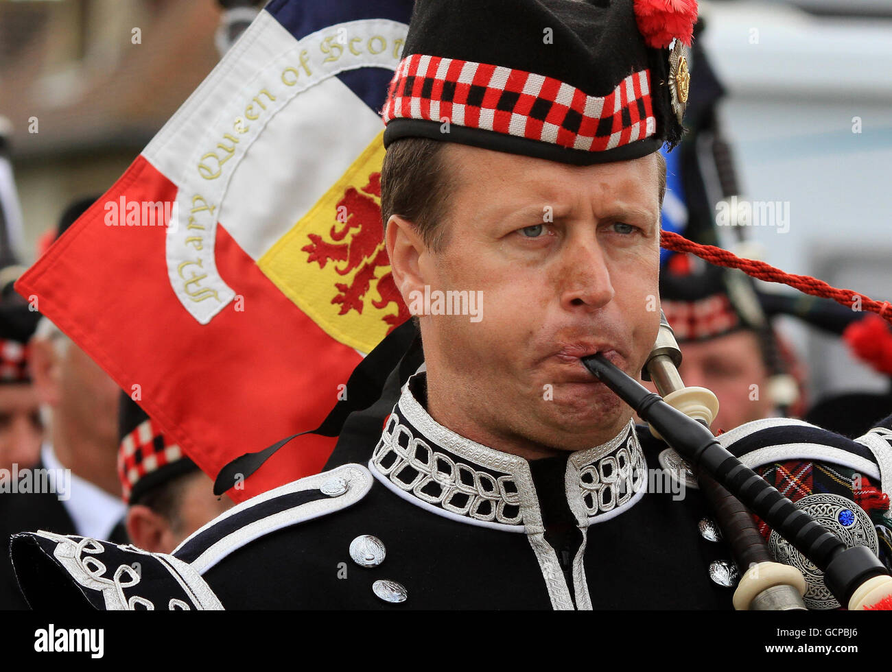 Remembering D Day Bill Millin Mad Piper Whose: Millin Stock Photos & Millin Stock Images