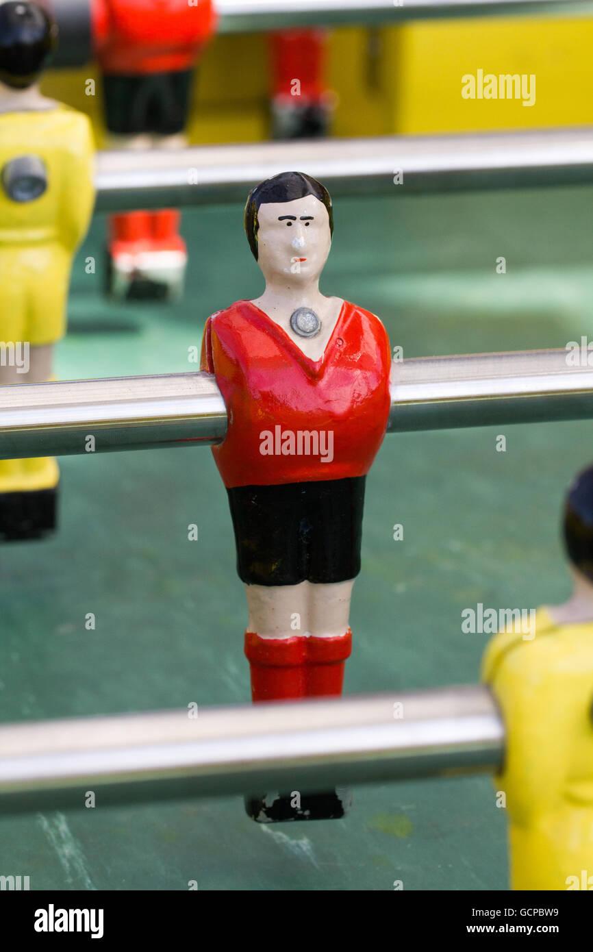 Table football player - Stock Image