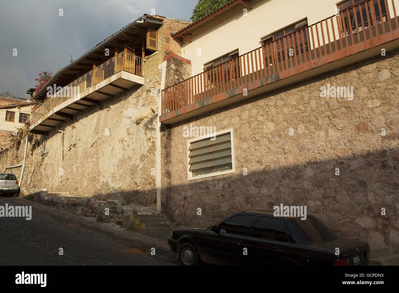 Mexico Puerto Vallarta; old-time architecture - Stock Image