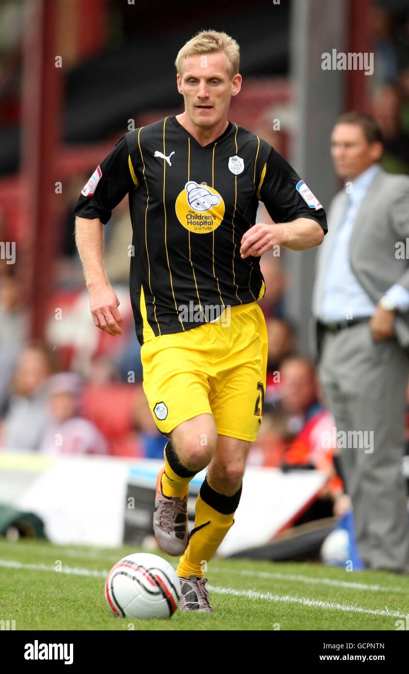 Soccer - npower Football League One - Brentford v Sheffield Wednesday - Griffin Park Stock Photo