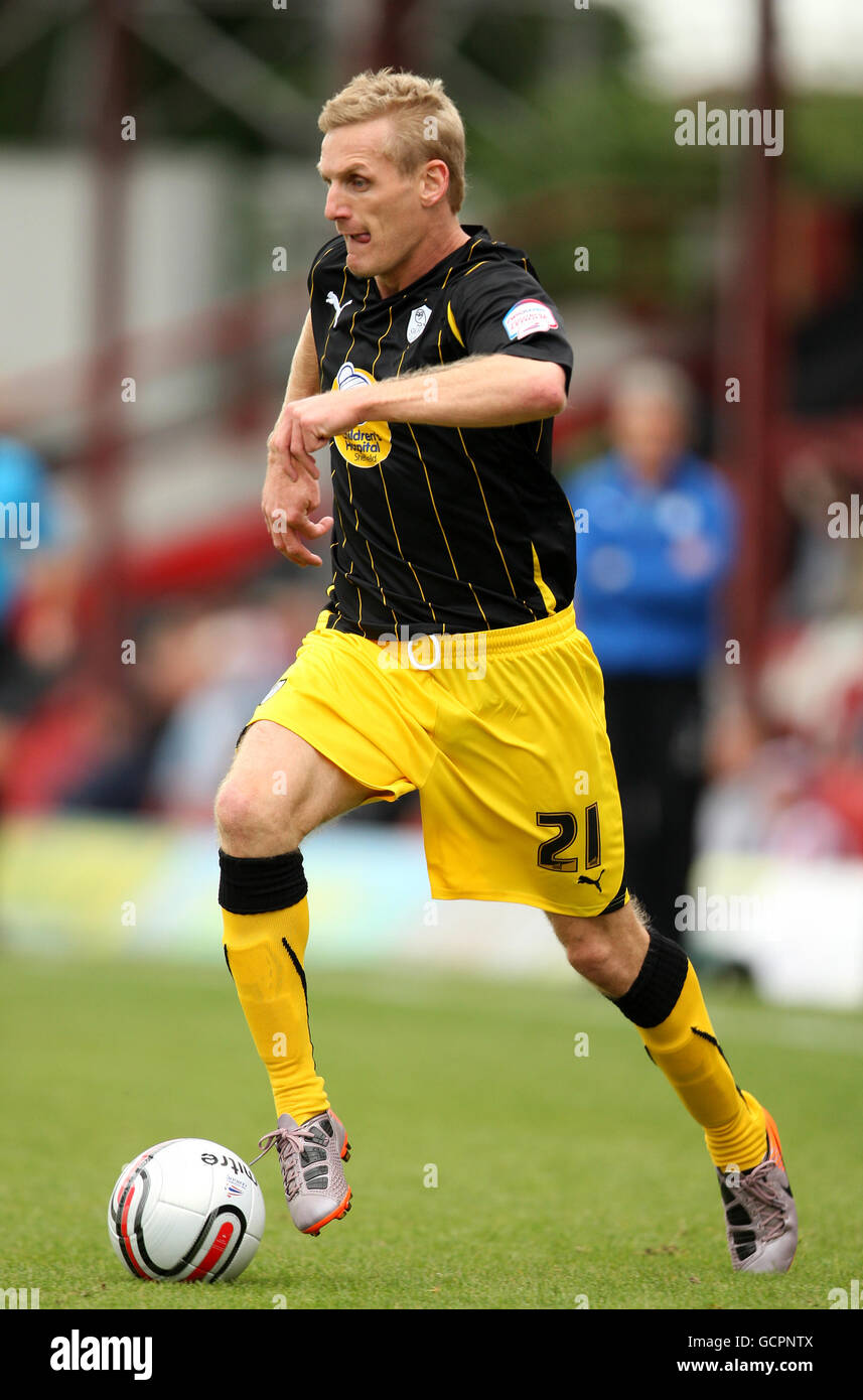 Soccer - npower Football League One - Brentford v Sheffield Wednesday - Griffin Park - Stock Image