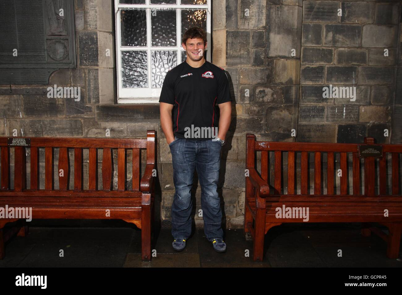 Rugby Union - Edinburgh Photocall - The People's Story Stock Photo