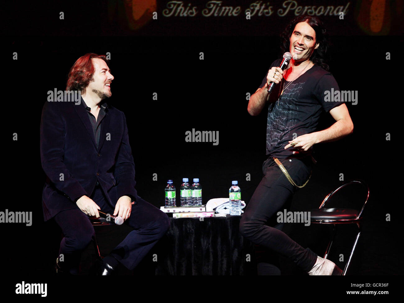 Russell Brand Booky Wook 2 Tour - London - Stock Image