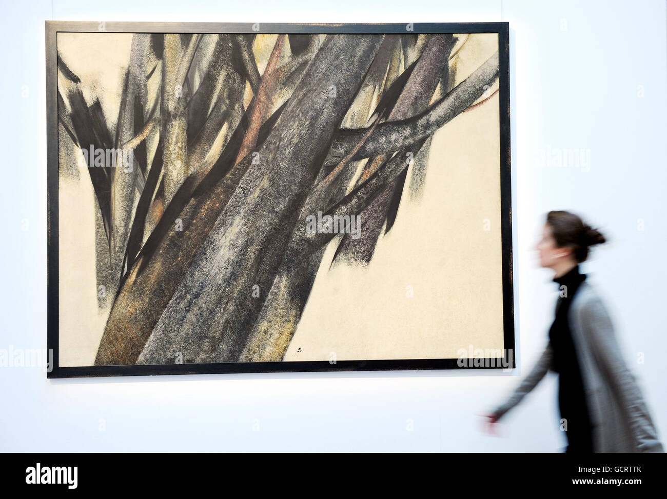 f2b21e9f9d7 Modern and Contemporary Arab and Iranian art sale Stock Photo ...