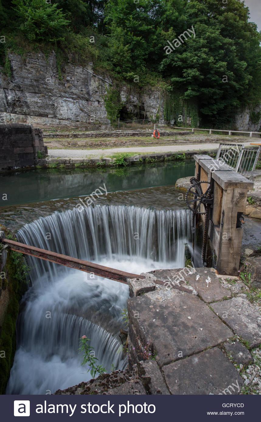 Derwent Valley Mills - Stock Image