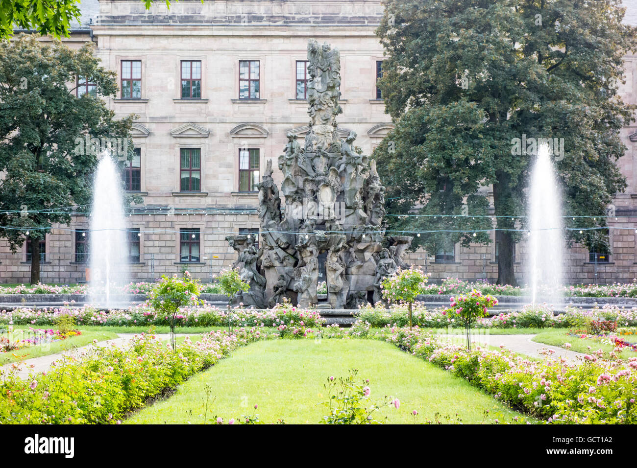 Botanischer Garten, Erlangen, Bavaria, Germany Stock Photo