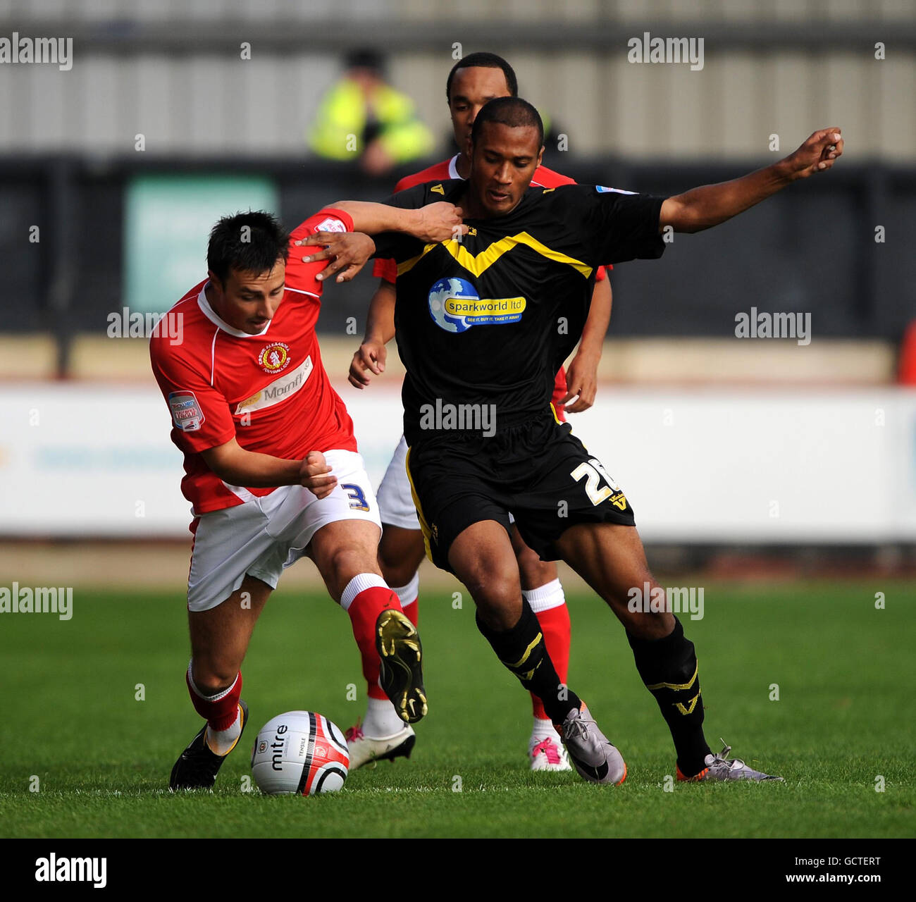 Soccer - npower Football League Two - Crewe Alexandre v Torquay United - Gresty Road - Stock Image