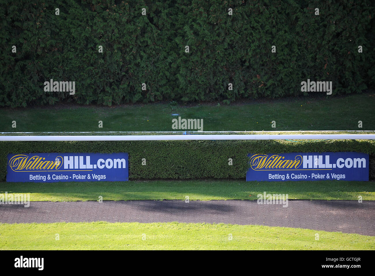 Horse Racing - Kempton Park Stock Photo