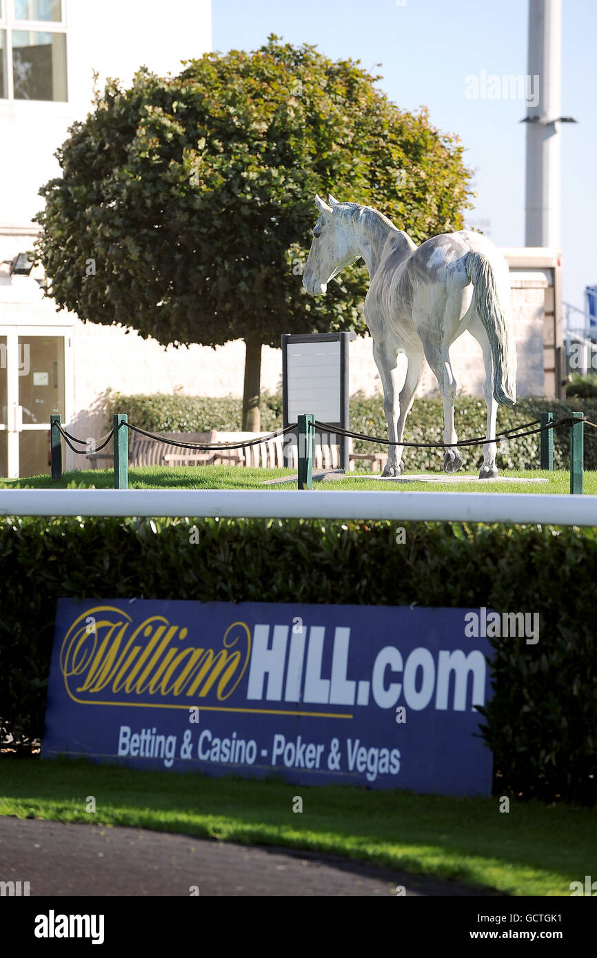 Horse Racing - Kempton Park Stock Photo
