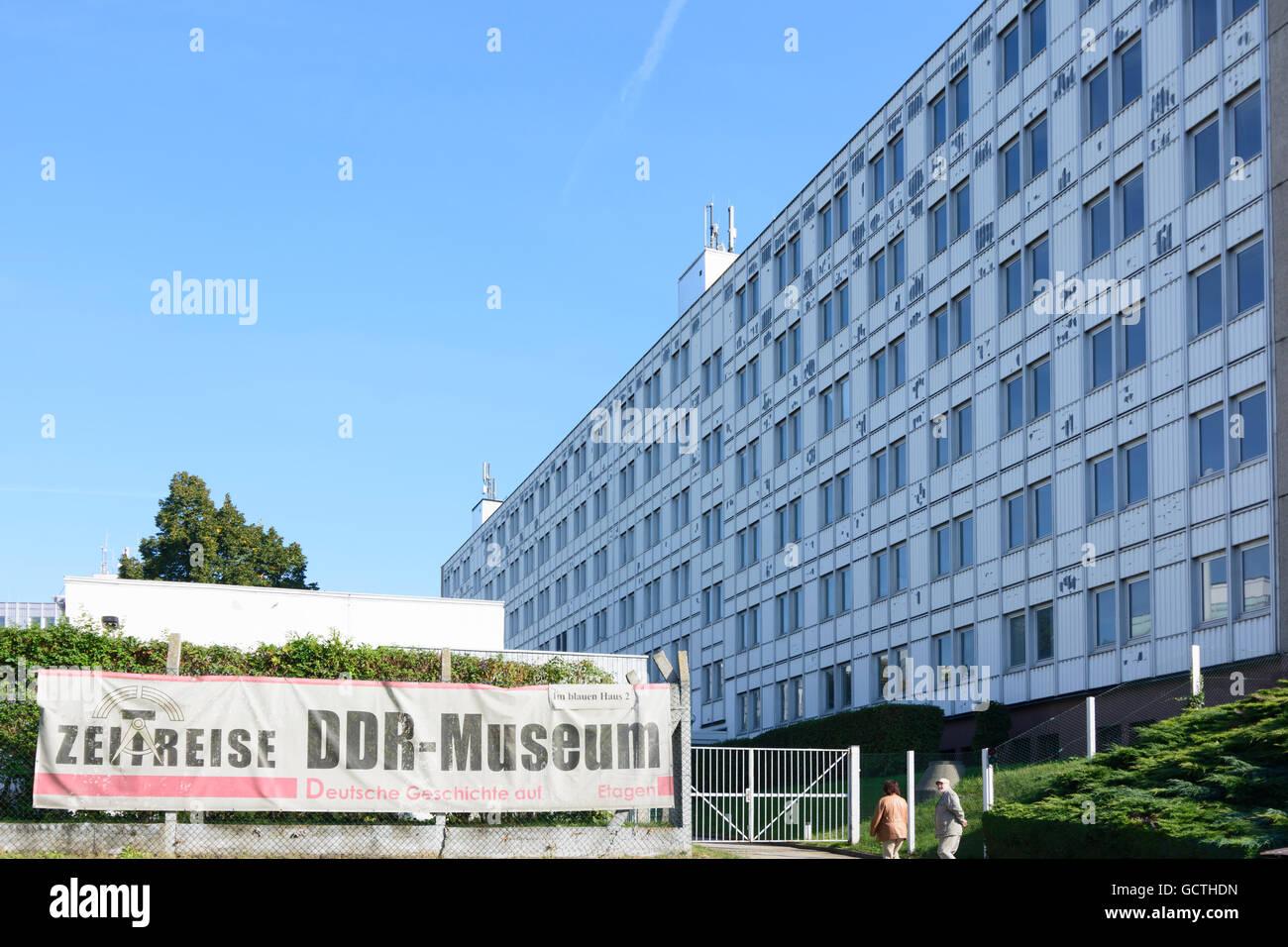 Radebeul GDR Museum Germany Sachsen, Saxony - Stock Image