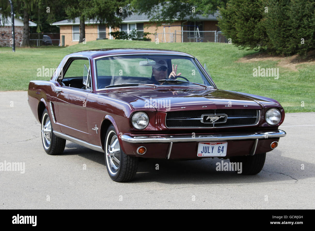 ford mustang 1964 stock photos ford mustang 1964 stock images alamy. Black Bedroom Furniture Sets. Home Design Ideas
