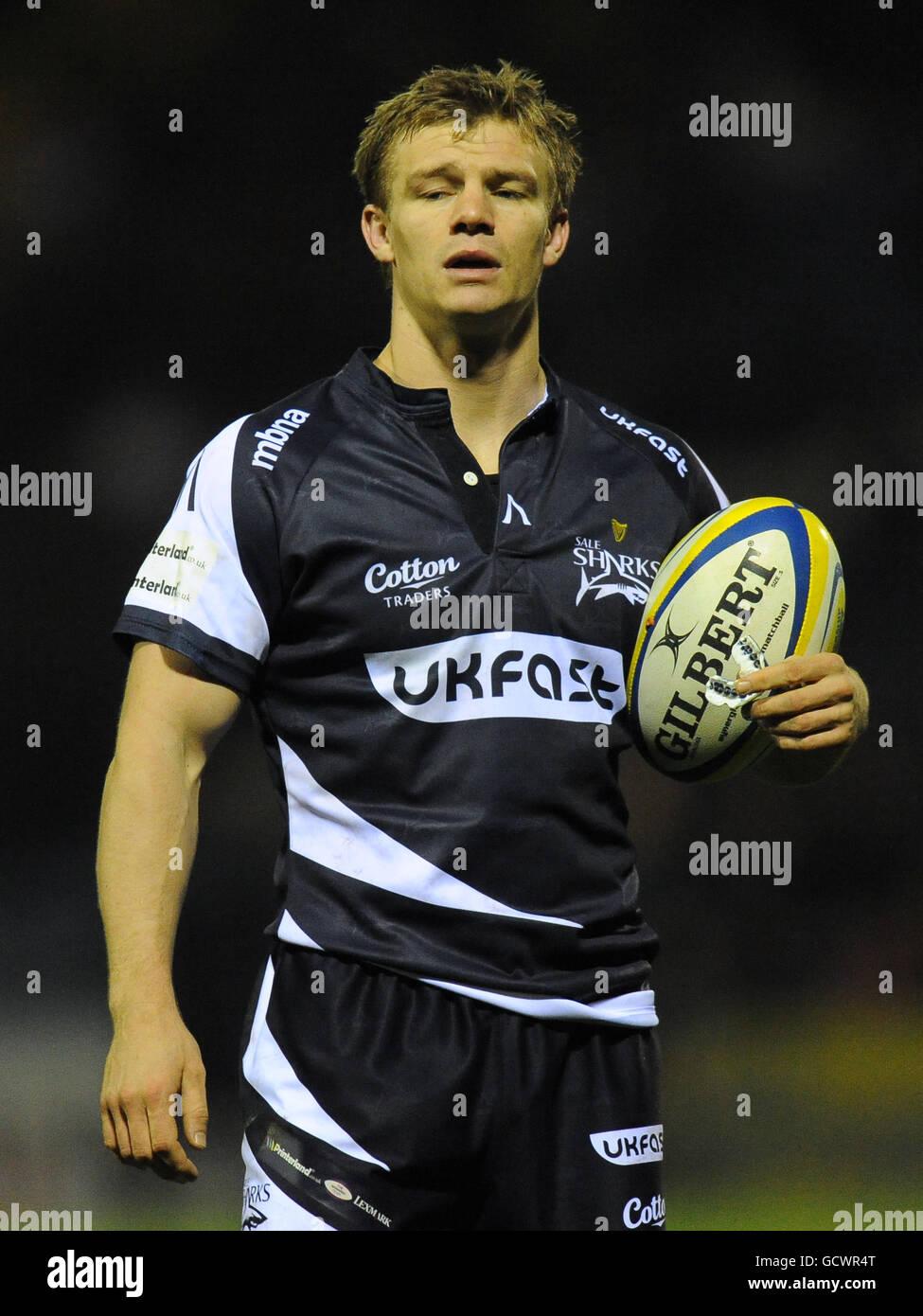 72c22e1f431 Rugby Union - Aviva Premiership - Sale Sharks v Northampton Saints -  Edgeley Park