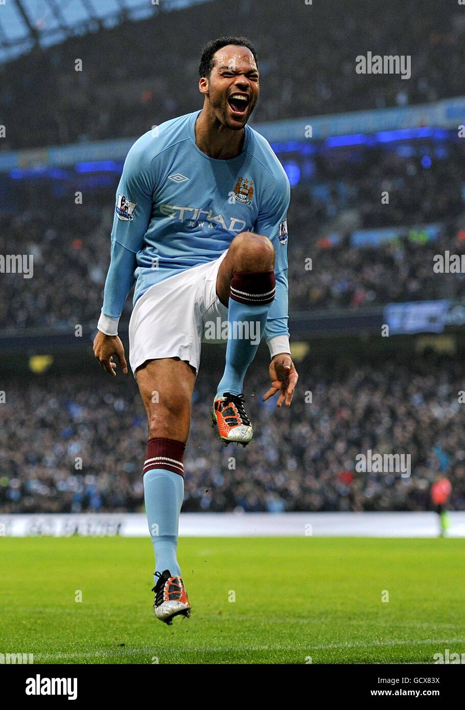 Manchester Citys Joleon Lescott Stock S & Manchester