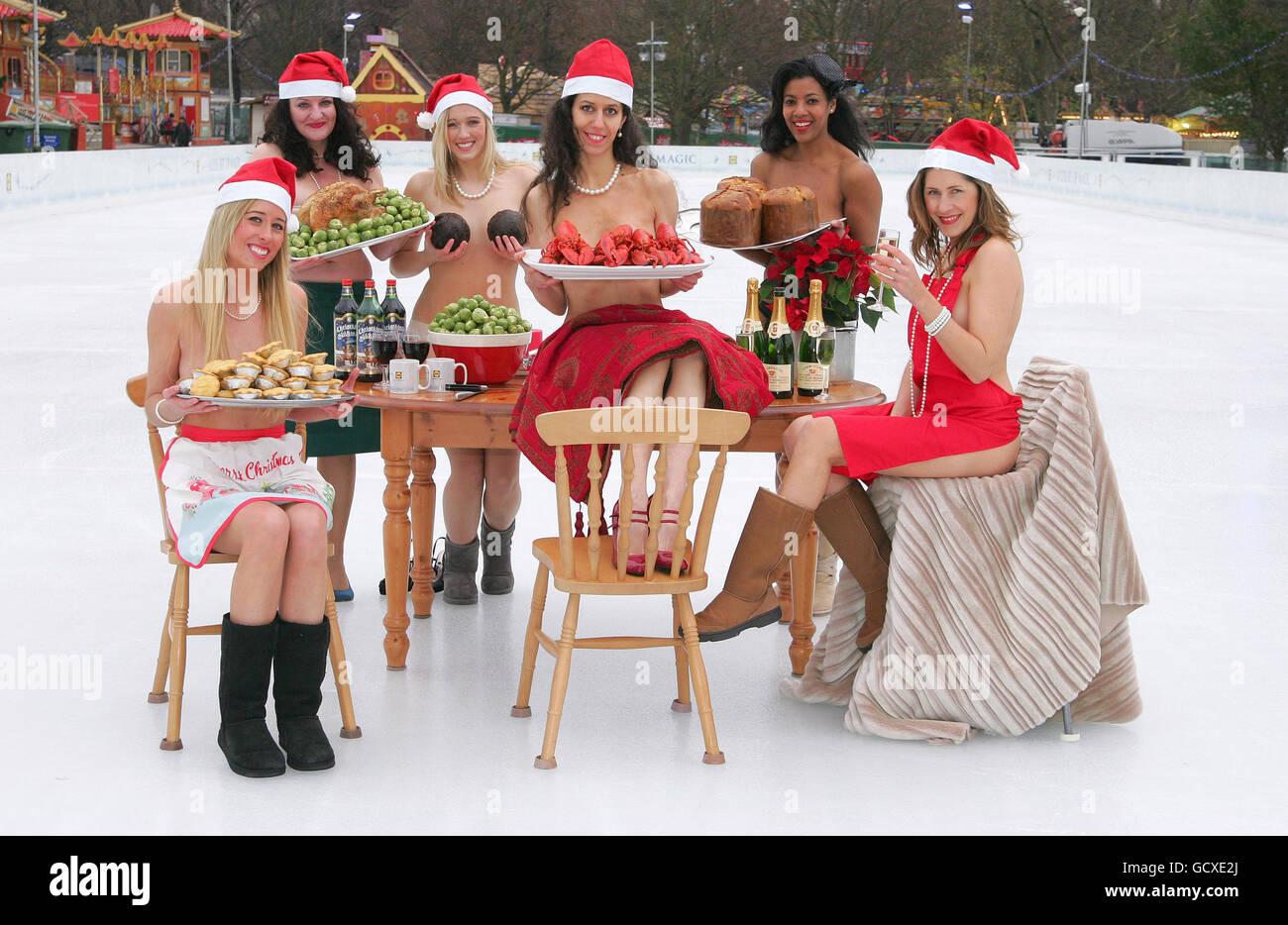 Lidl luxury Christmas range - Stock Image