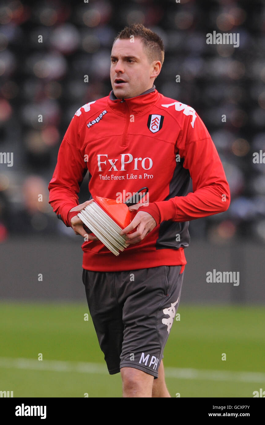 Soccer - Barclays Premier League - Fulham v Birmingham City - Craven Cottage - Stock Image