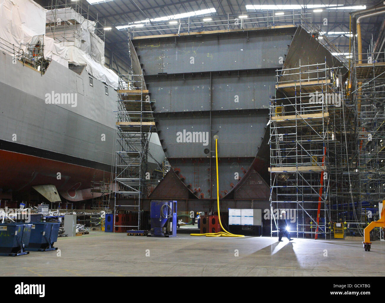 New carrier construction - Stock Image
