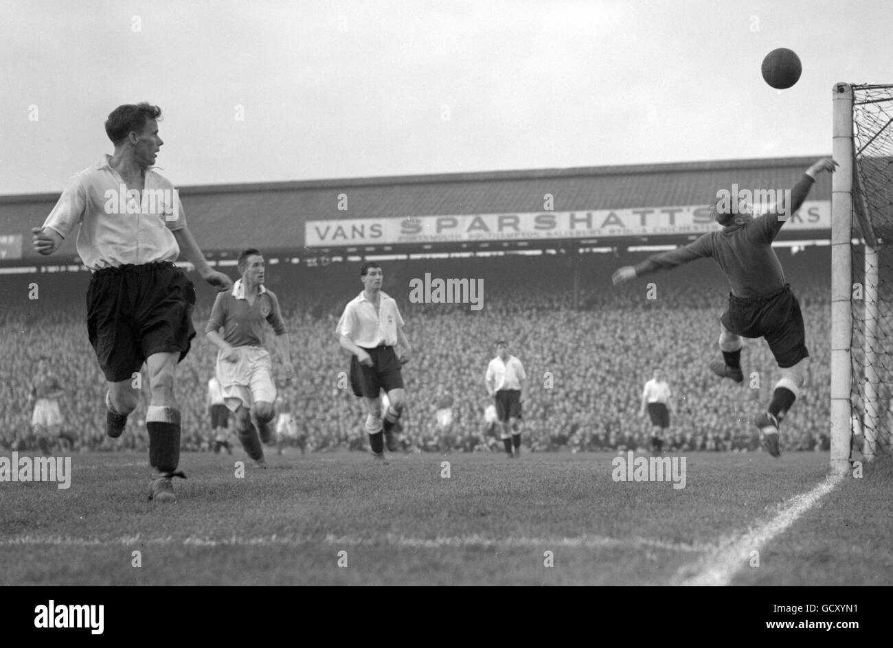 County Goal Black And White Stock Photos & Images