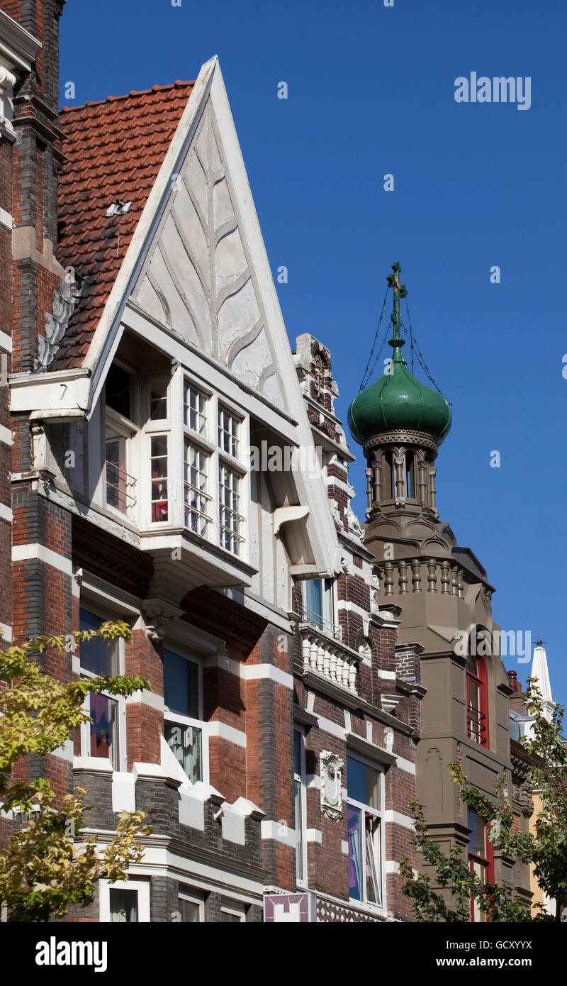 Zevenlandenhuizen, 7 Country Houses, Amsterdam, Holland, Netherlands, Europe - Stock Image