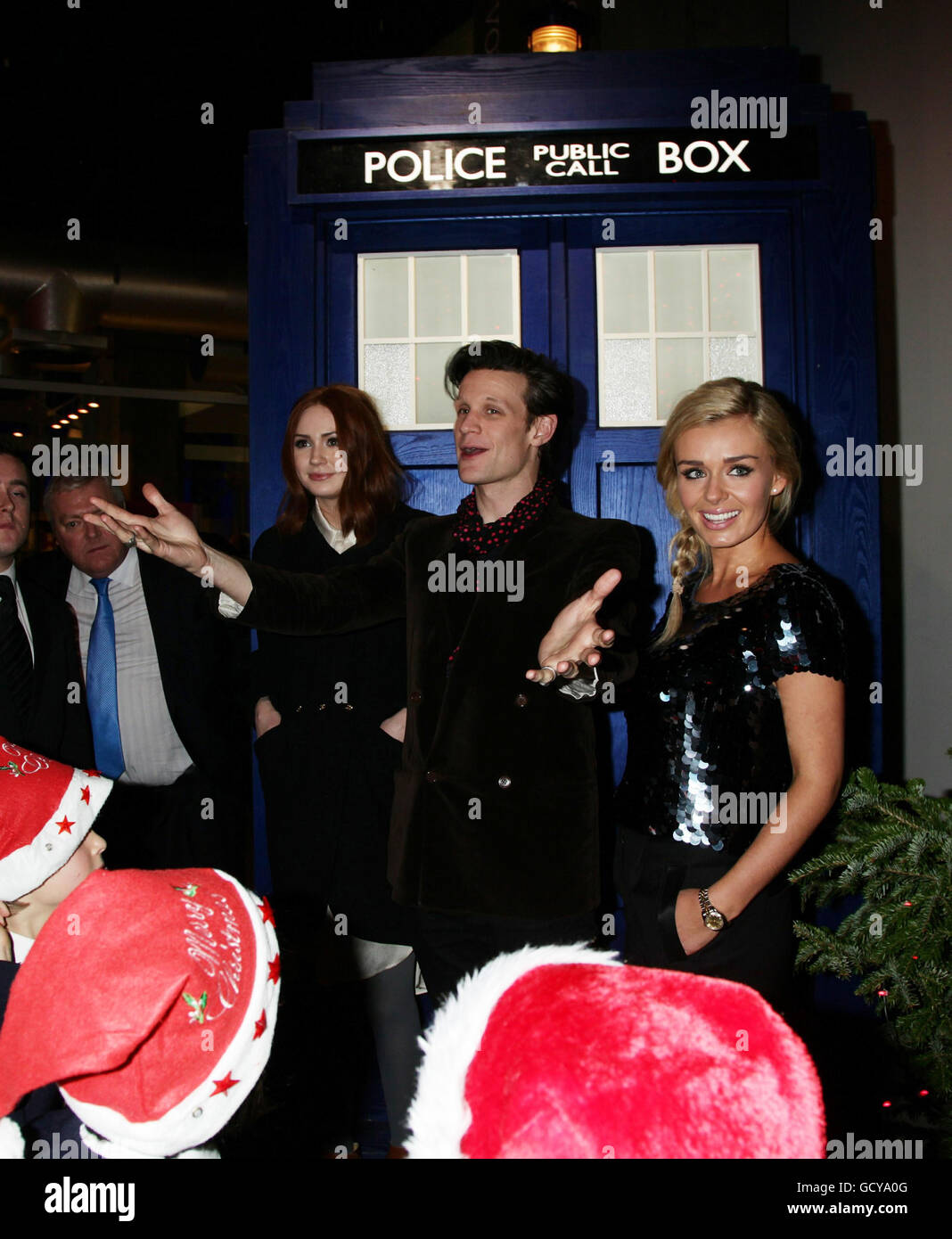 Dr Who Christmas Specials.Doctor Who Christmas Special Preview London Stock Photo