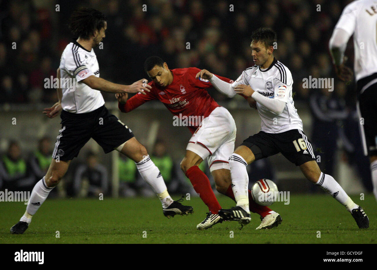 Soccer - npower Football League Championship - Nottingham Forest v Derby County - City Ground - Stock Image