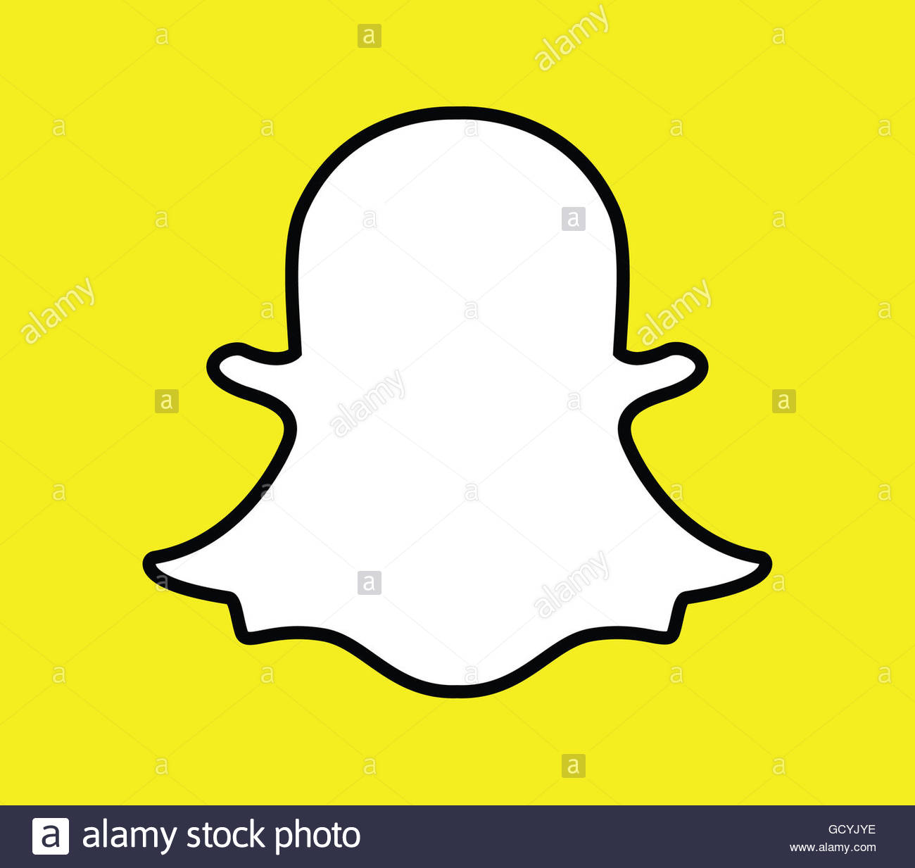 Snap Chat Icon Stock Photos Snap Chat Icon Stock Images Alamy