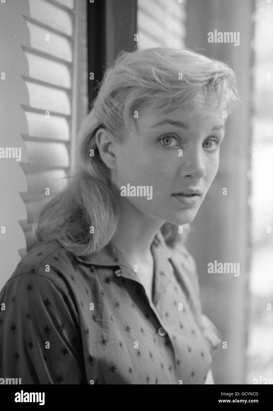 Actress Susan Oliver. Oliver's career had not yet taken off; one of her more memorable roles came in 1965, when Stock Photo