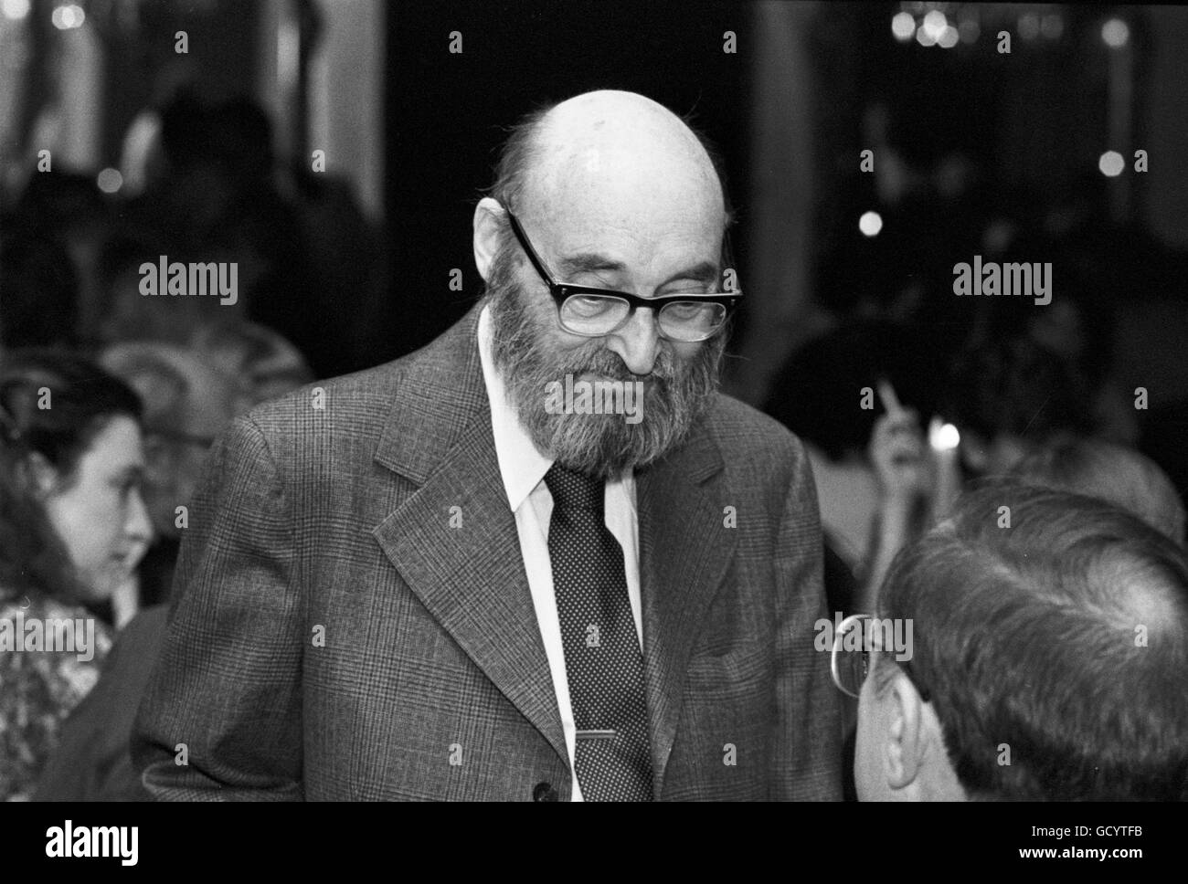 Frederic Dannay, otherwise known as Ellery Queen - Stock Image
