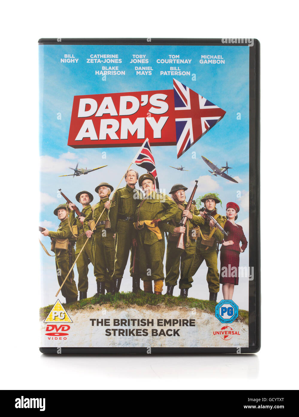 Dad's Army DVD, The British Empire Strikes Back - Stock Image