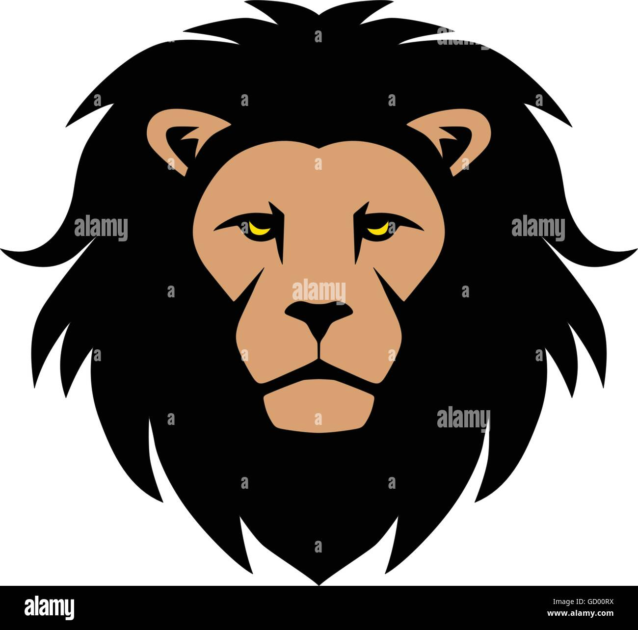 cartoon lions head stock photos cartoon lions head stock images rh alamy com cartoon lion head clip art cartoon lion head outline