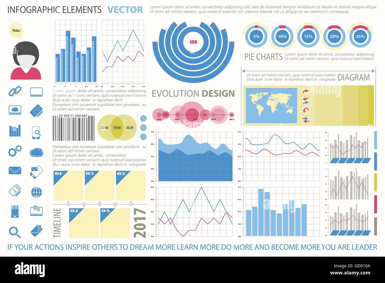 Info graphic elements web technology icons vector time line stock info graphic elements web technology icons vector time line diagram arrow symbol world map pie chart icon financial statis ccuart Choice Image