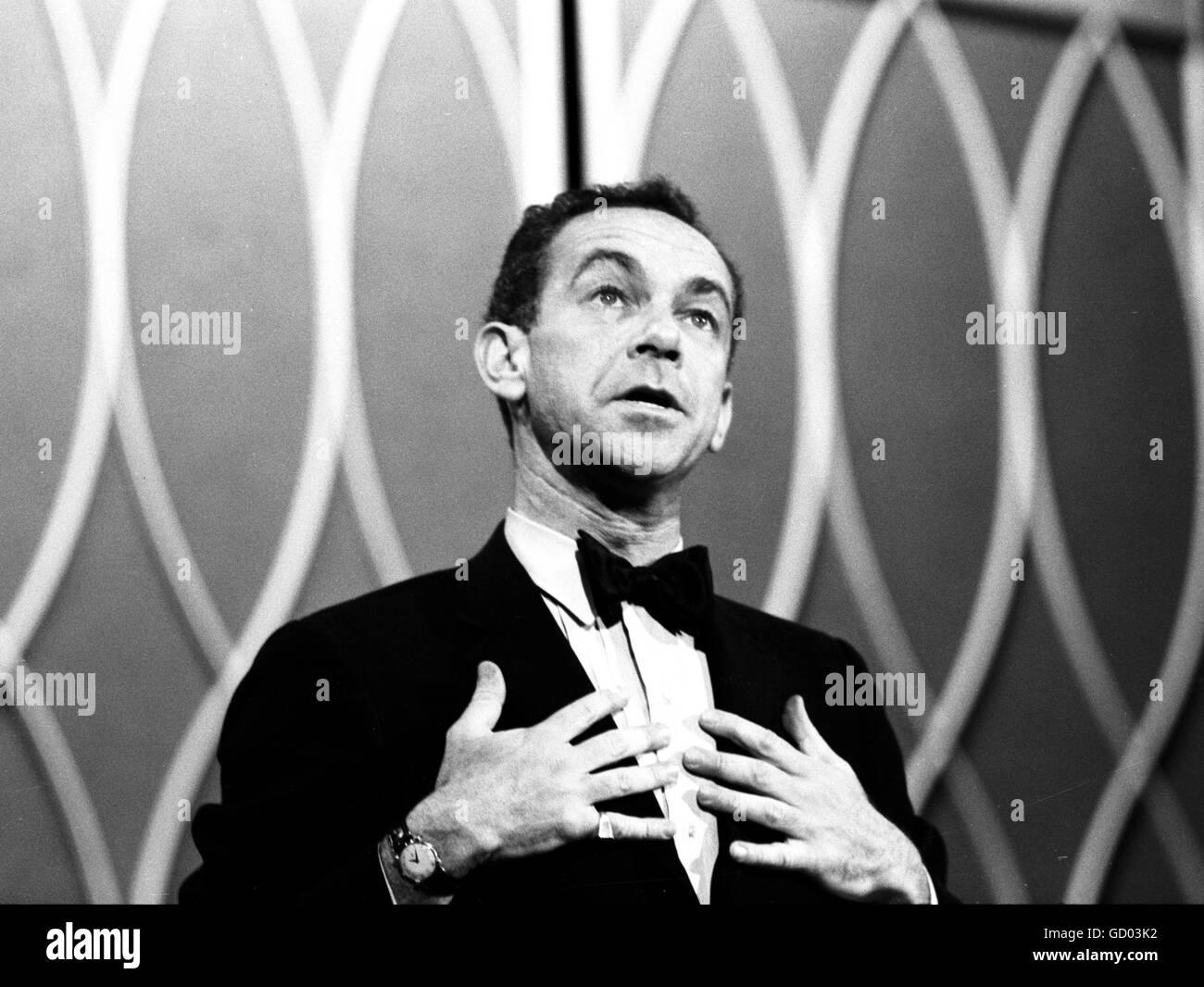 Comedian Jack Carter, 1961 - Stock Image