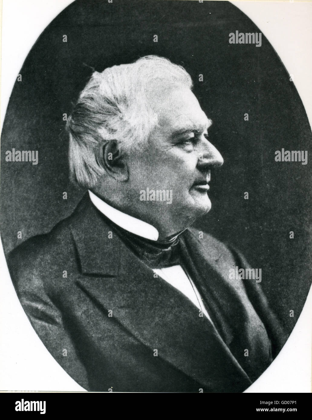 Millard Fillmore (1800-1874), 13th President of the United States. Stock Photo
