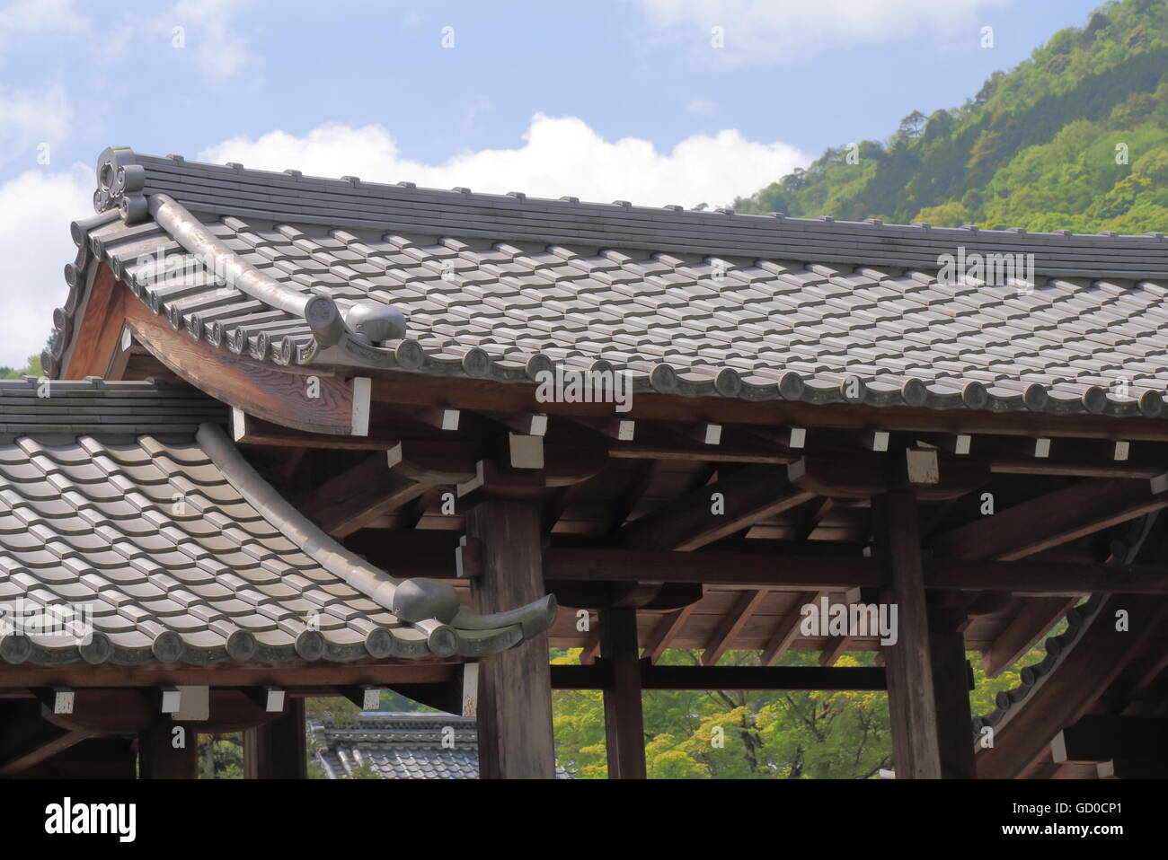 Traditional Japanese Roof Style Stock Photos Amp Traditional