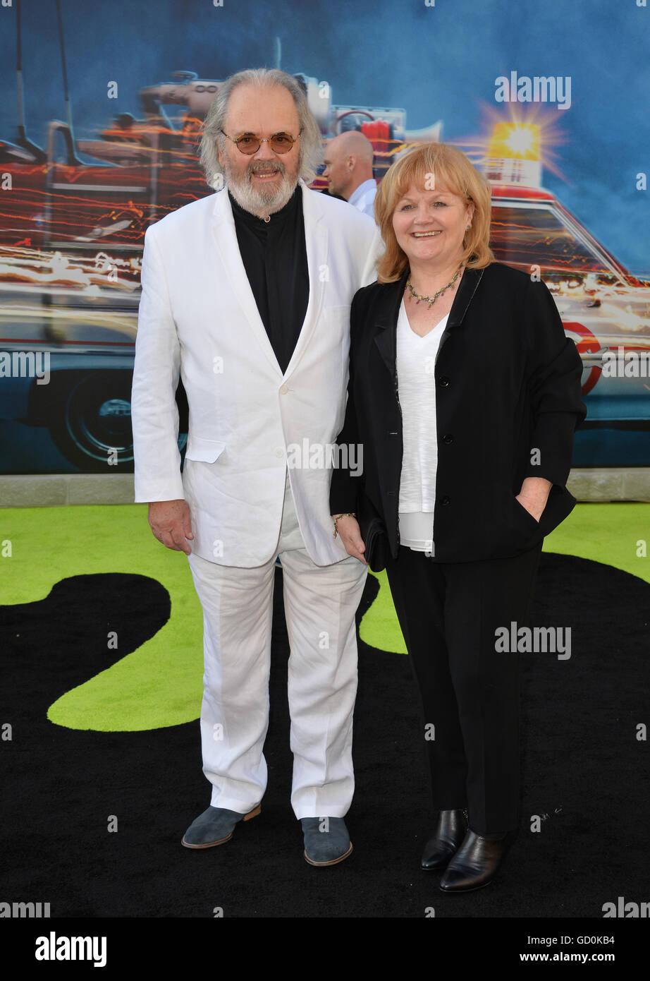 Los Angeles, California, USA. July 9, 2016. Actress Lesley Nicol & husband David Keith Heald at the Los Angeles - Stock Image