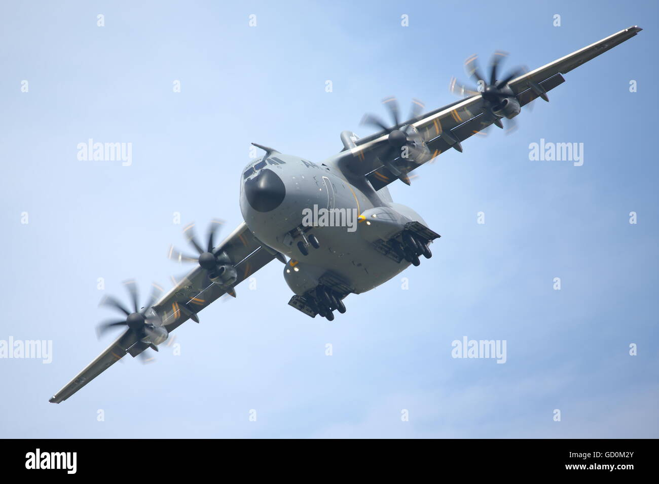 Fairford, UK. 09th July, 2016. The Royal International Air Tattoo 2016 provided a great display of modern military Stock Photo
