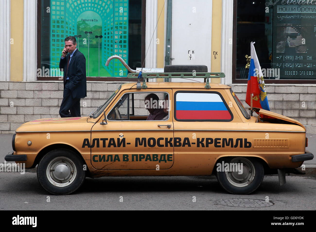 As I rode with Putin in Zaporozhets