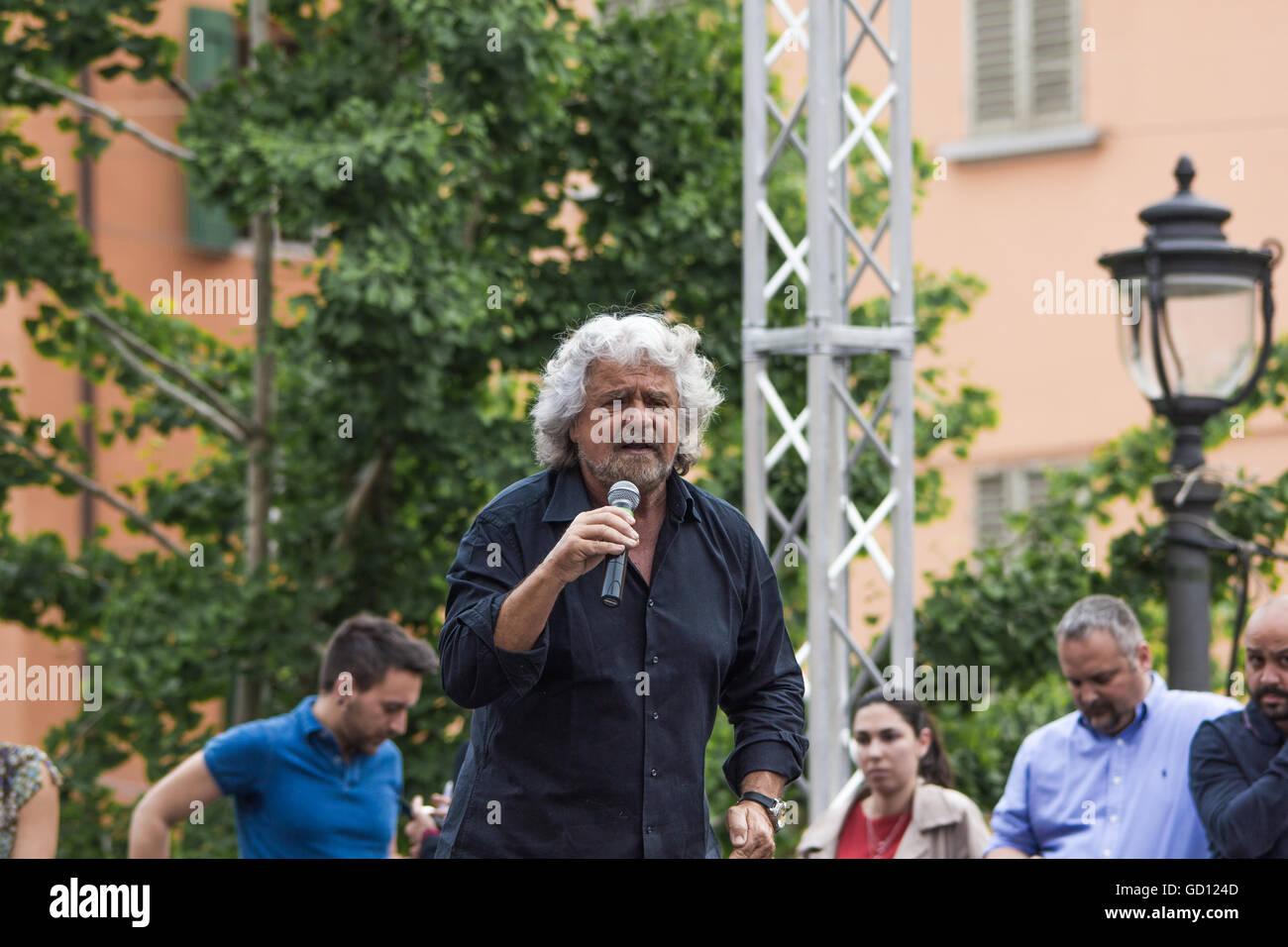 Beppe Grillo Stock Photo