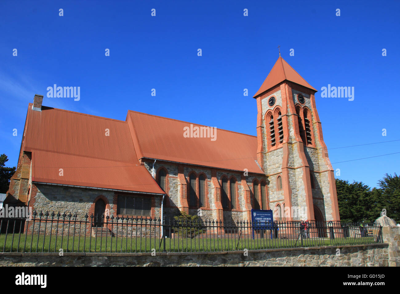 Christ Church Cathedral, Stanley, Falkland Islands - Stock Image