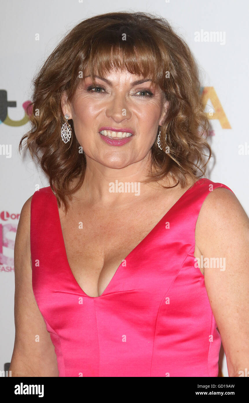 May 17, 2016 - Lorraine Kelly attending Lorraine's High Street Fashion Awards at Grand Connaught Rooms in London, - Stock Image