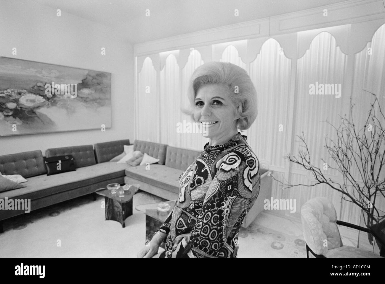 Jean Nidetch, cofounder of Weight Watchers - Stock Image