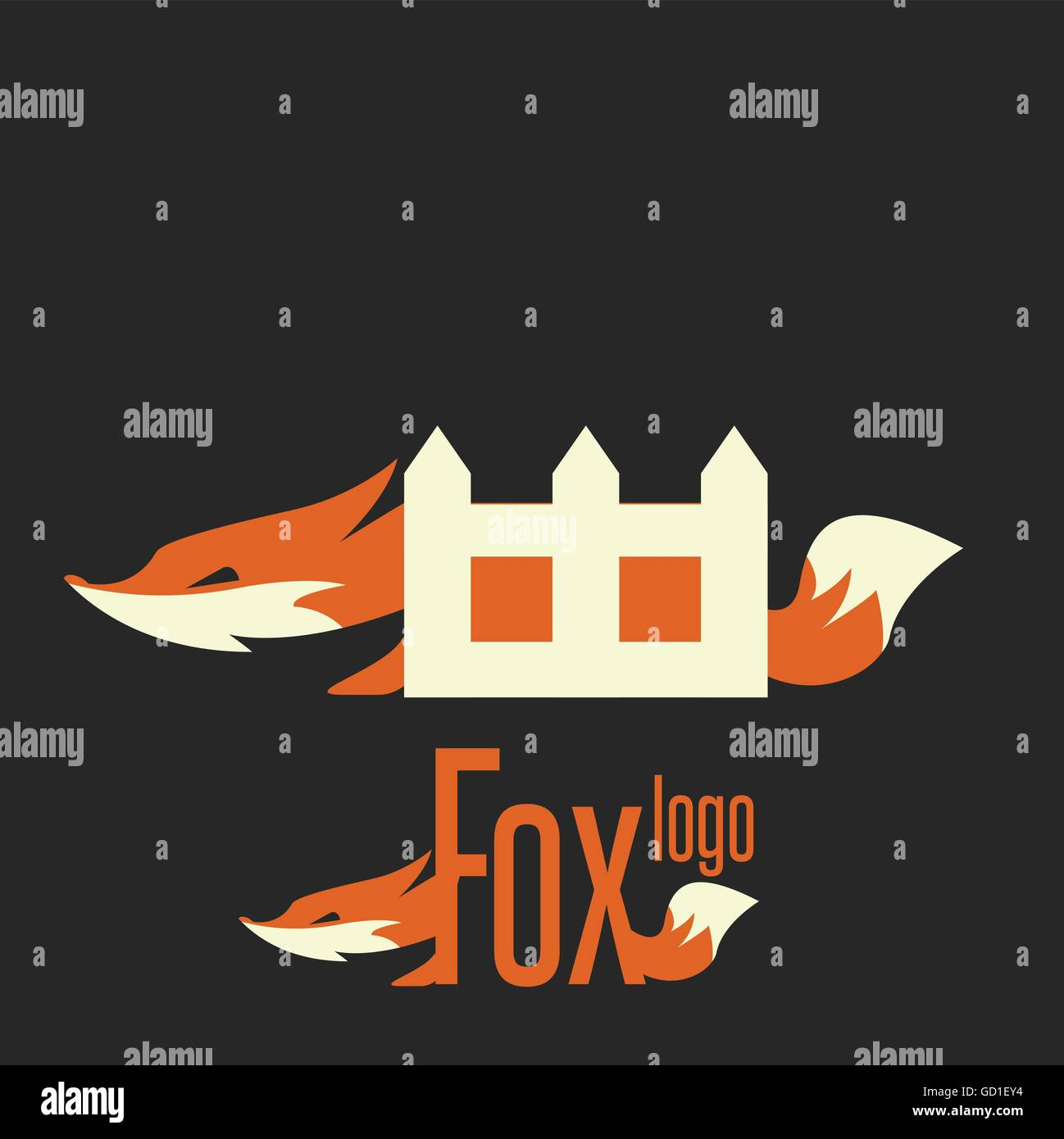 Fox Logo Designed In A Simple Way So It Can Be Use For Multiple Proposes Like