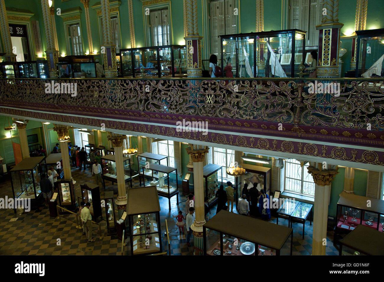 The image of Bhau Daji Lad Museum was taken in Mumbai, India - Stock Image