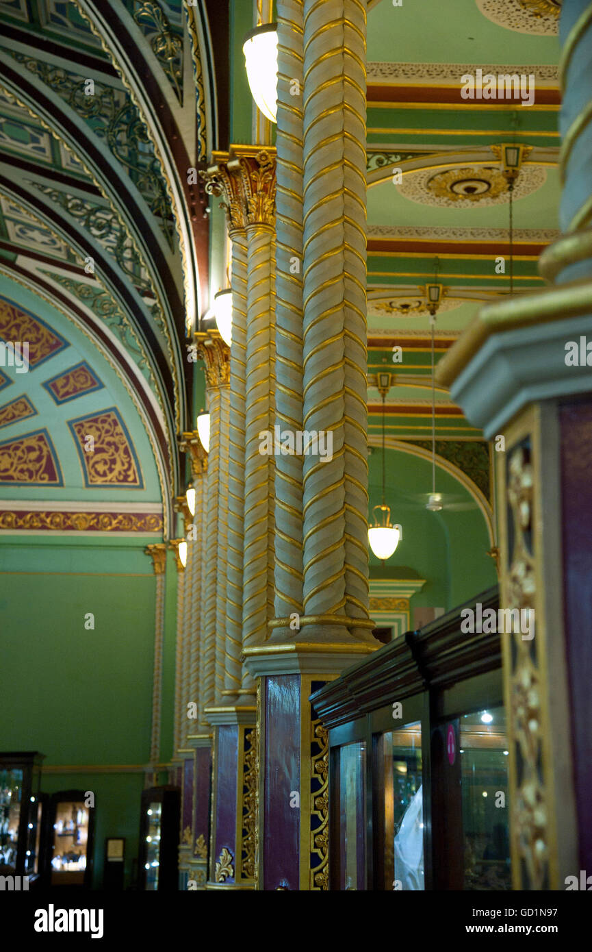 The image of Bhau Daji Lad Museum was taken in Mumbai, India - Stock Image