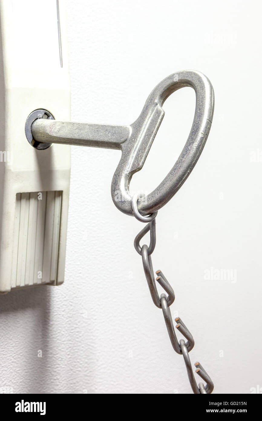 fuse box lock stock photos & fuse box lock stock images alamy fire extinguisher box door an iron chain hangs an fuse key in the keyhole stock image