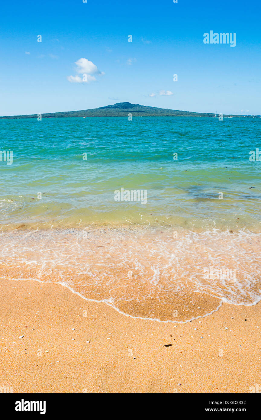 Rangitoto Island, Hauraki Gulf, Auckland, North Island, New Zealand, Pacific - Stock Image