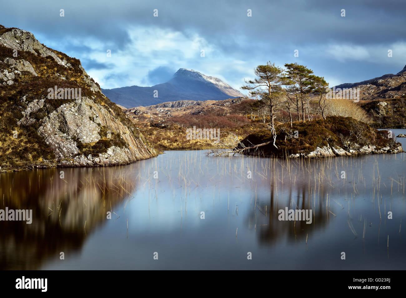 Sutherland, Scottish Highlands, Scotland, United Kingdom, Europe - Stock Image