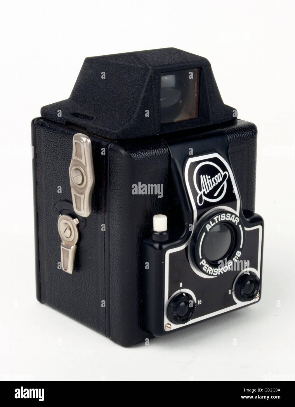 photography, cameras, roll-film camera 'Altissa', design: design by factory, made by: VEB Kamera- und Kinowerke - Stock Image