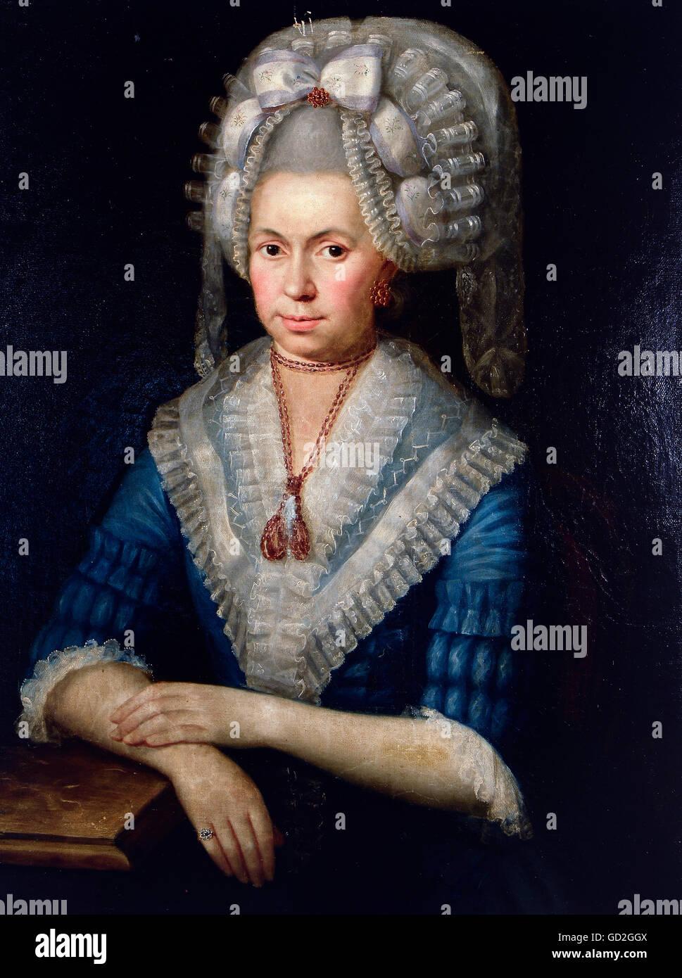 18th Century Woman Wig Stock Photos   18th Century Woman Wig Stock ... 07aa220782