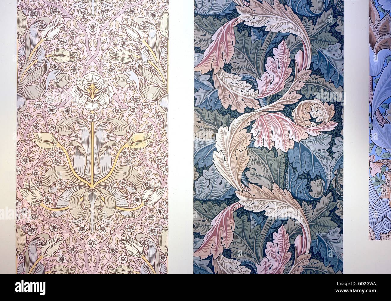 Arts Crafts Wallpaper High Resolution Stock Photography And Images Alamy