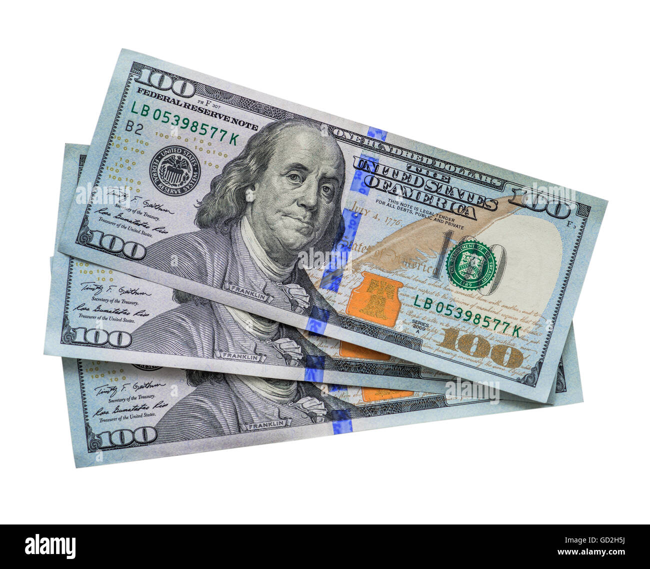 three hundred dollars  Three Hundred Dollars Stock Photos